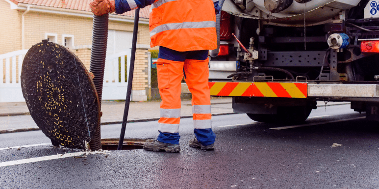 Drain Cleaning process